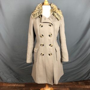 Old Navy Tan Wool Coat - Size S